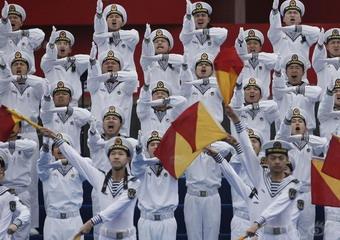 多國海軍聯合軍樂展示在青島舉行