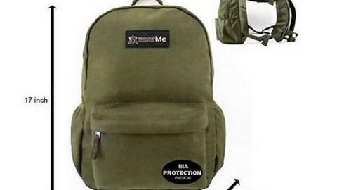 以色列2名軍官設計學生防彈揹包 在美國熱賣