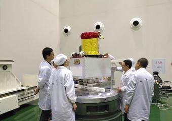 """一箭五星 長十一火箭搭載""""國緣V9""""衛星成功發射"""