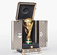 LV为世界杯定制专用箱