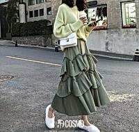 風琴褶裙變身仙女