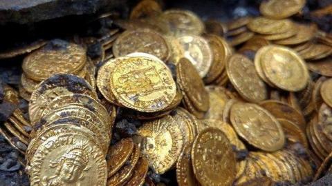 古羅馬帝國時期金幣出土 或價值數百萬美元