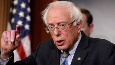 桑德斯才宣佈參選1天 募得600萬 傲視民主黨參選人