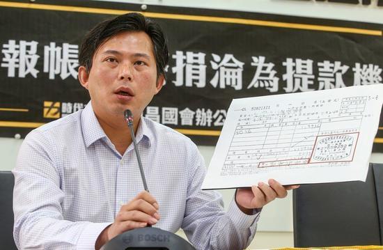 時代力量立委黃國昌。記者陳柏亨/攝影