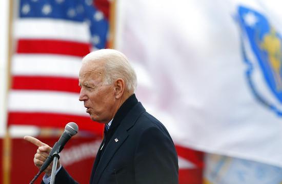 前美国副总统拜登(Joe Biden)将于25日宣布角逐民主党提名,参加2020年总统大选 图/美联社