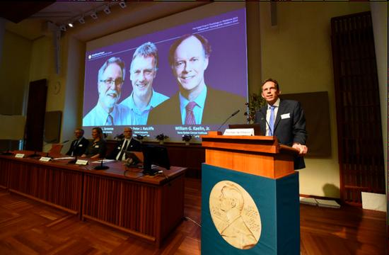 2019年諾貝爾獎今天揭開序幕,醫學獎得主由凱林(William Kaelin)...