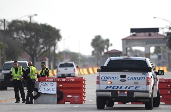 美國德州聖體城(Corpus Christi)海軍航空站發生持槍行兇事件。 美聯社