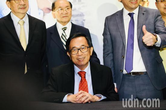 陳水扁。記者陳柏亨/攝影