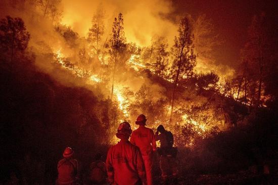 2018年7月,美国加州爆发该州史上规模最大的「门多西诺复合野火」(Mendoc...