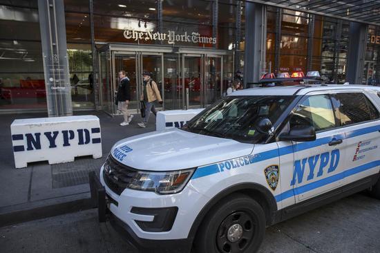 纽约市警车。 法新社