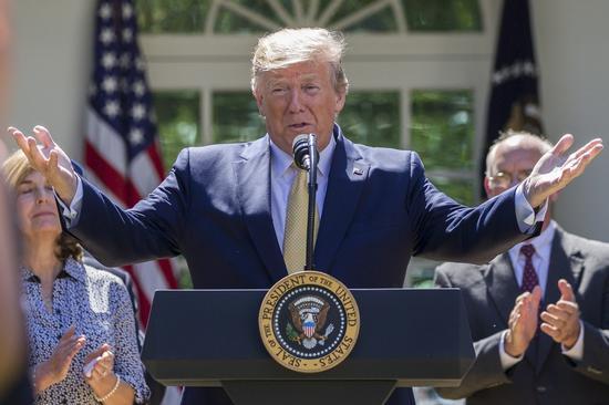美国总统川普美联社