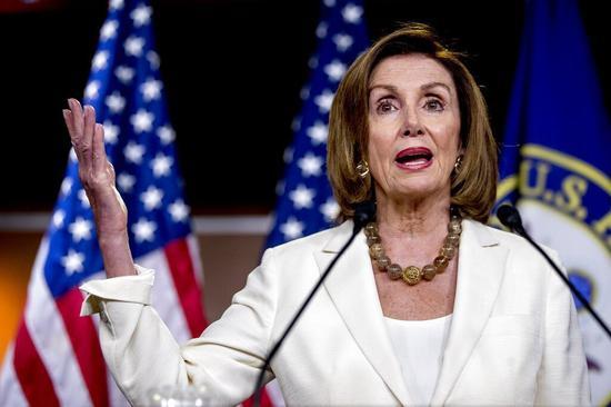美国众院议长波洛西(Nancy Pelosi) 美联社