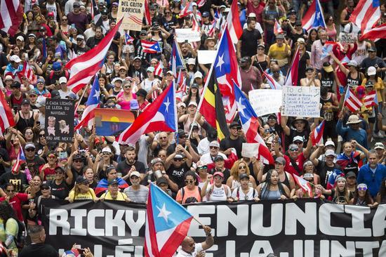 波多黎各出现美国史上最大的政府破产,继任者形成超难克服的挑战 美联社