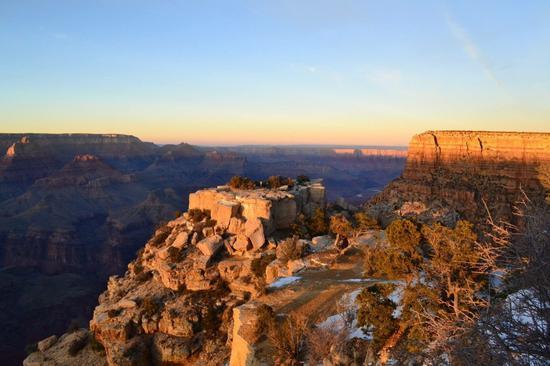美国大峡谷国家公园 联合报系资料照片/特派员许惠敏摄影