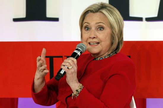 2016年角逐總統大位失利的喜萊莉·柯林頓,在逼近2020年選戰之際動作頻頻,開...