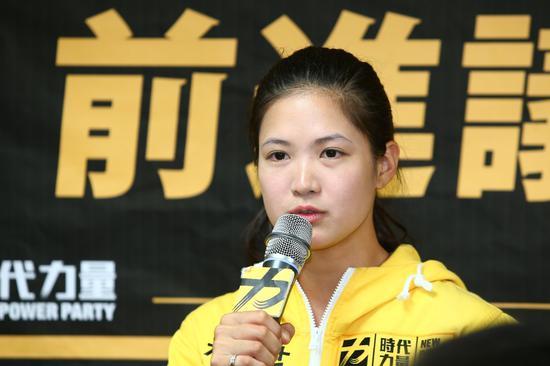 時代力量臺北市議員林亮君發聲明,宣佈退黨,時力在臺北市議會的黨團宣告瓦解。 圖/聯合報系資料照片