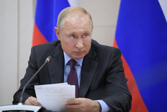 俄国总统普京。 路透
