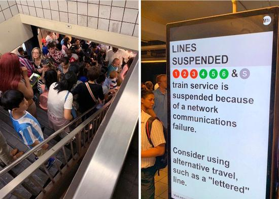 纽约地铁近日因排水问题灾害不断,从上周有乘客差点被冲走及系统故障,到本周乘客搭车...