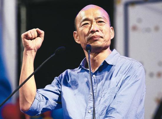 高雄市長當選人韓國瑜。圖/報系資料照