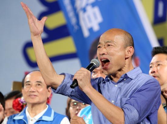 国民党高雄市长当选人韩国瑜。 图/联合报系资料照片