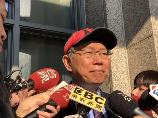 臺北市長柯文哲說,包括2014年選舉、2018年選舉、一日雙塔,不是說以前成功,...