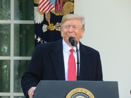 美國總統川普。聯合報系資料照片/華盛頓記者張加攝影