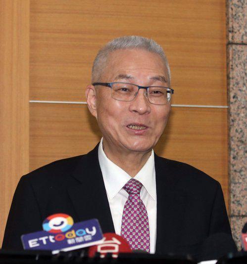 國民黨主席吳敦義。 聯合報系資料照/記者曾吉鬆攝影
