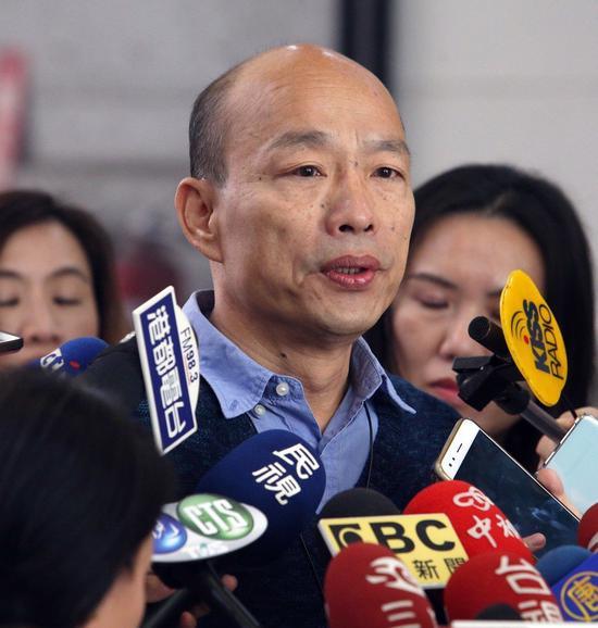 高市長韓國瑜。圖/本報資料照片