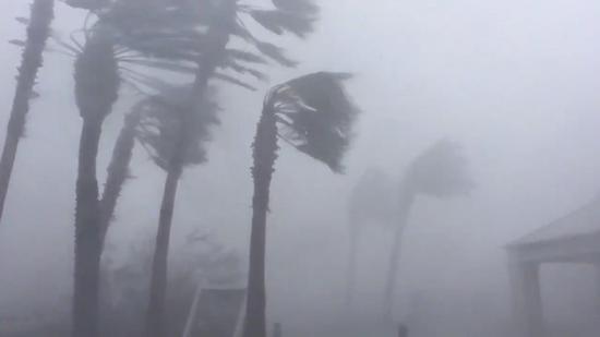 4级飓风「麦可」10日自美国佛州西北部登陆,狂风暴雨为当地带来严重灾情,不少人的家园一夕全毁。路透