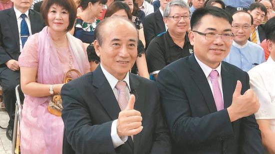 立法院前院長王金平(見圖)拒絕出任韓國瑜副手,韓昨天說,仍會以「誠心、耐心、信心」推動整合。 記者邵心傑/攝影