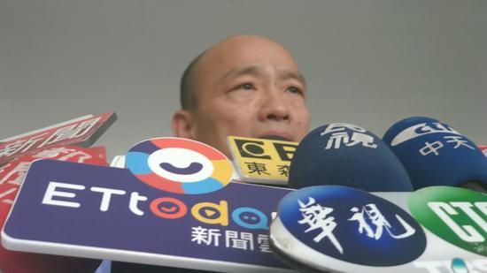 高雄市長韓國瑜。圖/本報資料照片