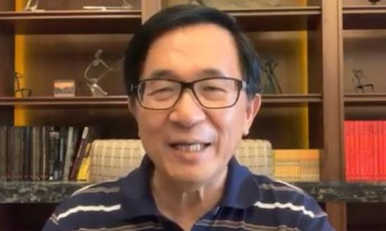 前总统陈水扁认为,蔡赖配、赖蔡配都可以纳入全民调。 图/翻摄自陈水扁脸书