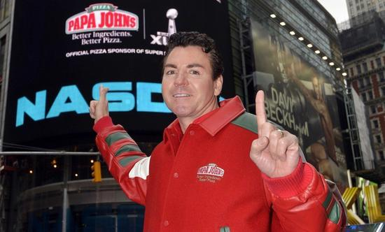 连锁披萨店Papa Johns创办人被踢爆开会谈「黑鬼」引发争议股价下挫后道歉