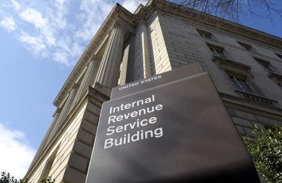 美国国税局。 美联社