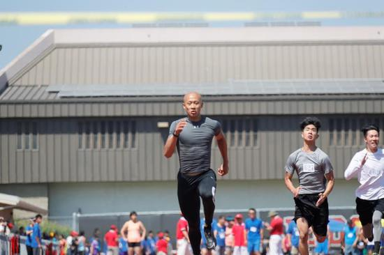 北加州華人文化體育協會田徑比賽