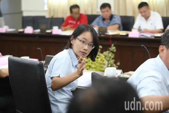 北农总经理吴音宁(前)。联合报系资料照/记者林澔一摄影