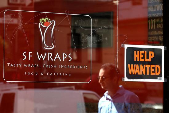 失業率創新低 餐館和旅館職缺近百萬 法新社