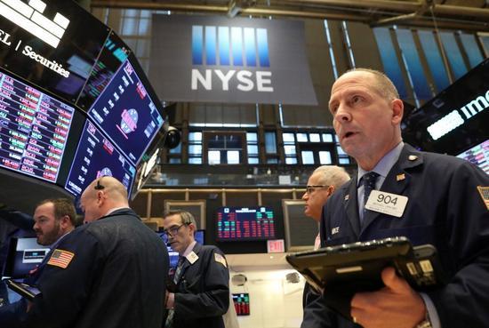 美国股市10日震荡走高,连续第5个交易日收红。 路透社
