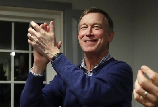美国科罗拉多州前州长希肯鲁柏宣布,加入民主党总统大选提名战。 美联社