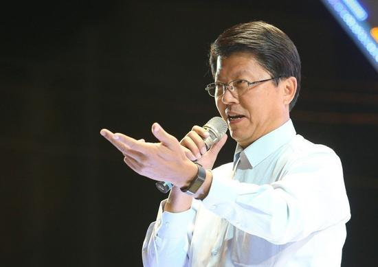 国民党台南市党部主委谢龙介。本报资料照片