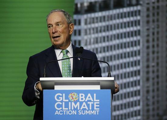 前紐約市長彭博(Michael Bloomberg)據傳有意以民主黨身分角逐2020年美國總統大選。 美聯社