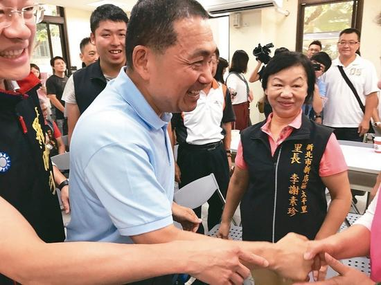 国民党新北市长参选人侯友宜。 联合报系记者陈珮琦/摄影