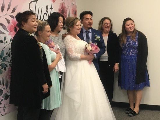 美国华人倾向公证结婚 林佩锦