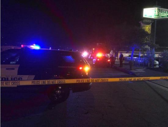 聖伯納汀諾市一集合公寓2日晚發生槍擊案,多人受傷。(臉書)