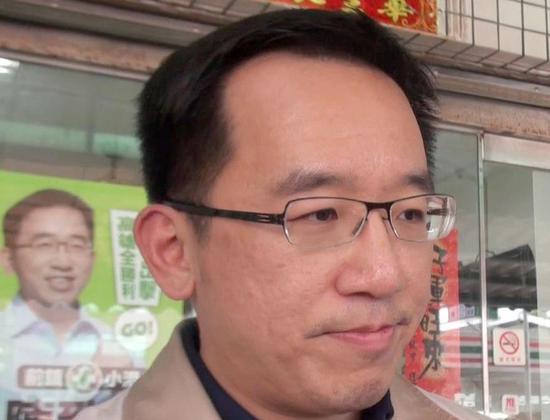 陈水扁之子、高雄市议员参选人陈致中。联合报系资料照