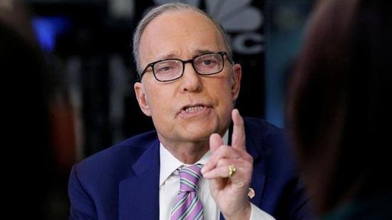 美國總統川普首席經濟顧問庫德洛(Larry Kudlow)。香港經濟日報