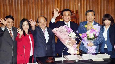 民進黨首任