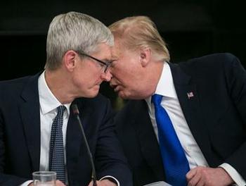 與庫克晚餐 川普預告蘋果在美砸大錢