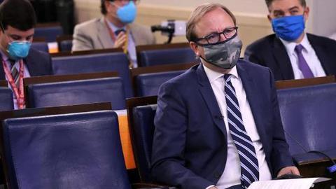 白宮記者確診新冠肺炎 本週曾兩次參加簡報會