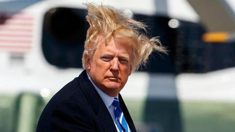 川普不斷抱怨頭髮問題後 美國要修改淋浴用水標準
